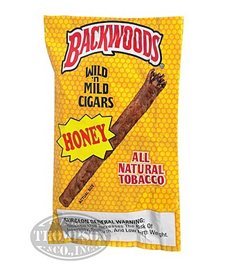 Backwoods Cigarillo Natural Honey
