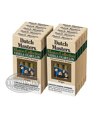 Dutch Masters 2-Fer Candela Mini Cigarillo Vanilla