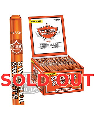 Swisher Sweets Peach Natural Cigarillo
