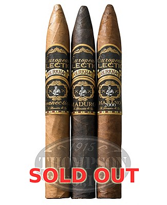 Gurkha European Selection Gurkha European Selection 3 Pack Torpedo