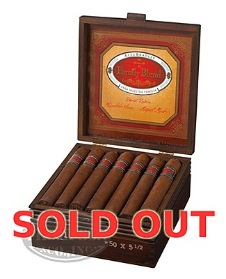 Alec Bradley Family Blend D3 Natural Rothschild