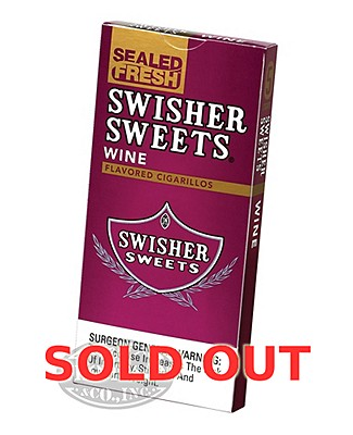 Swisher Sweets Cigarillo Packs Natural Cigarillo Wine