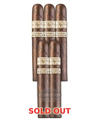 Rocky Patel Nicaraguan Reserve Robusto Maduro 5 Pack