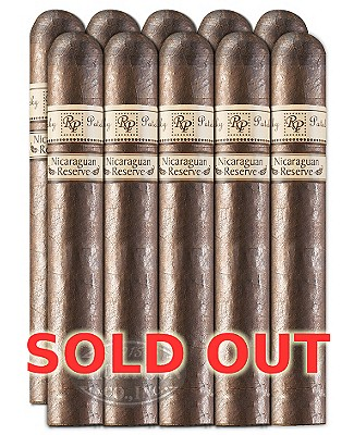 Rocky Patel Nicaraguan Reserve Churchill Maduro 10 Pack