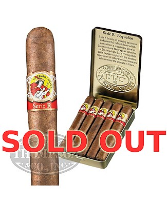 La Gloria Cubana Serie R Pequenos Natural Cigarillo Single Tin