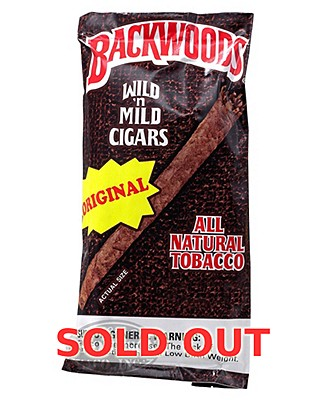 Backwoods Original Natural Cigarillo 2-Fer Plus Honeyberry 5pk