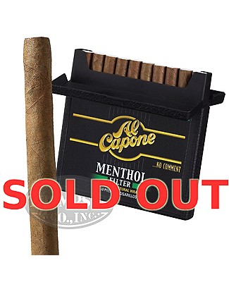 Al Capone Mini Cigarillo Natural Menthol Single Pack