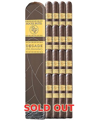 Rocky Patel Decade Wooden Cigar Sun Grown Robusto