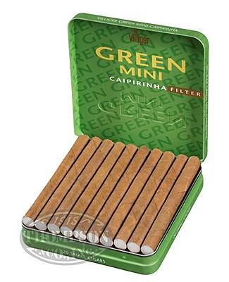 Villiger Green Caipirinha Filtered Sumatra Mini Cigarillo Infused