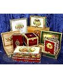 10 Premium Empty Cigar Boxes