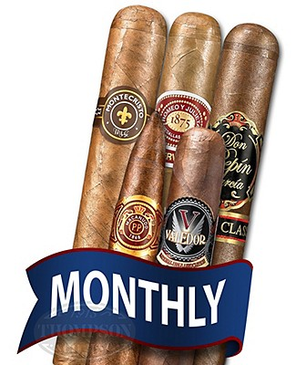Cigar Tour Sampler Of The Month 5 Cigars Monthly
