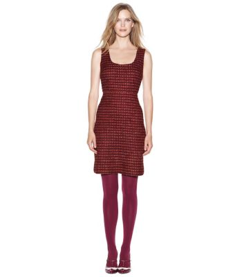 Tory Burch Victory Tweed Dress