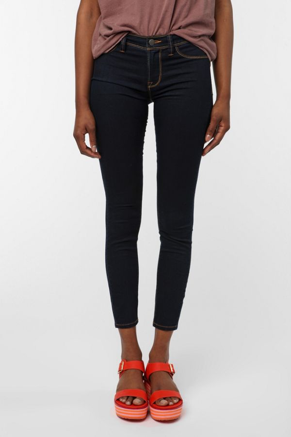 48ef6a023dc3f Silence + Noise Denim Legging - Washed Black | Urban Outfitters