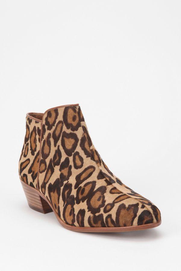 d3358e721e95e8 Sam Edelman Leopard Petty Boot
