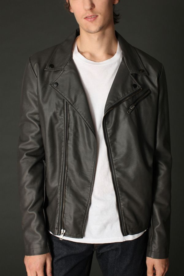 cb5bc78e4 Charles & 1/2 Dennis Moto Jacket | Urban Outfitters