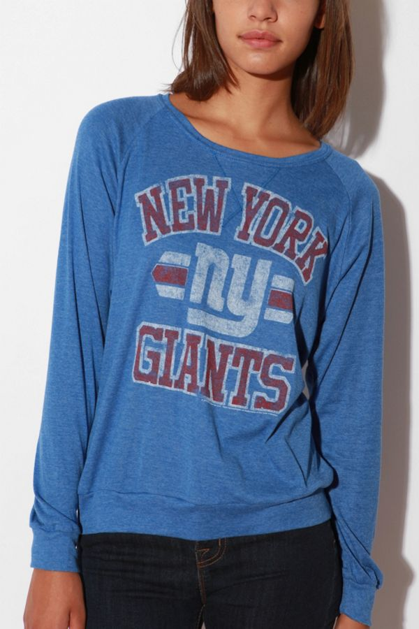 online retailer 20122 72116 New York Giants Long-Sleeve Triblend Tee | Urban Outfitters ...