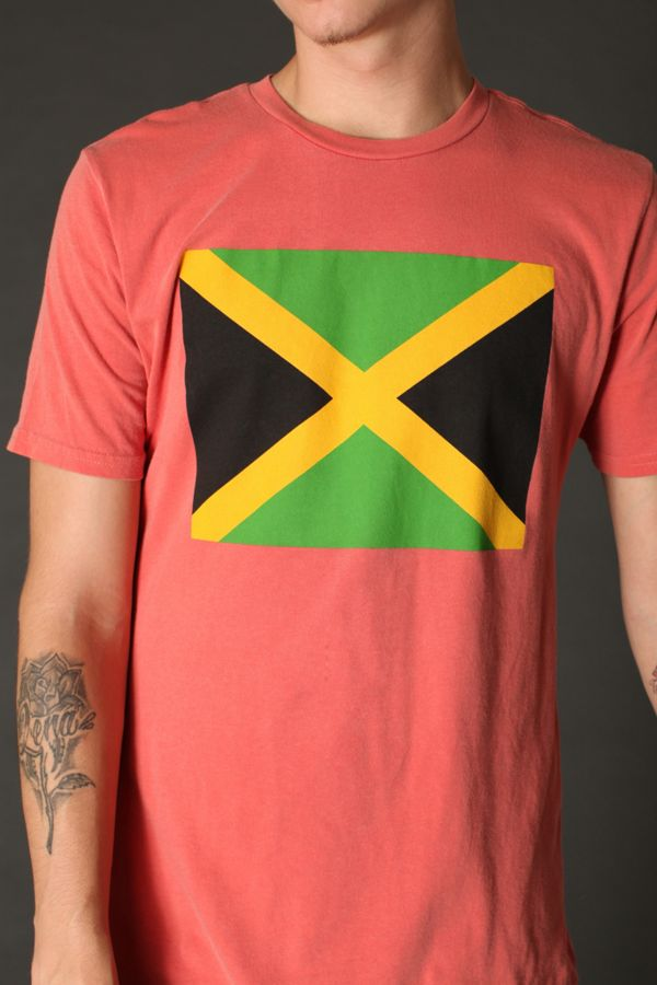 Jamaican Flag Tee | Urban Outfitters
