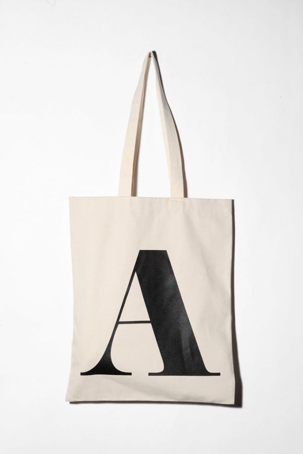 Alphabet Letter Tote Bag Urban Outers