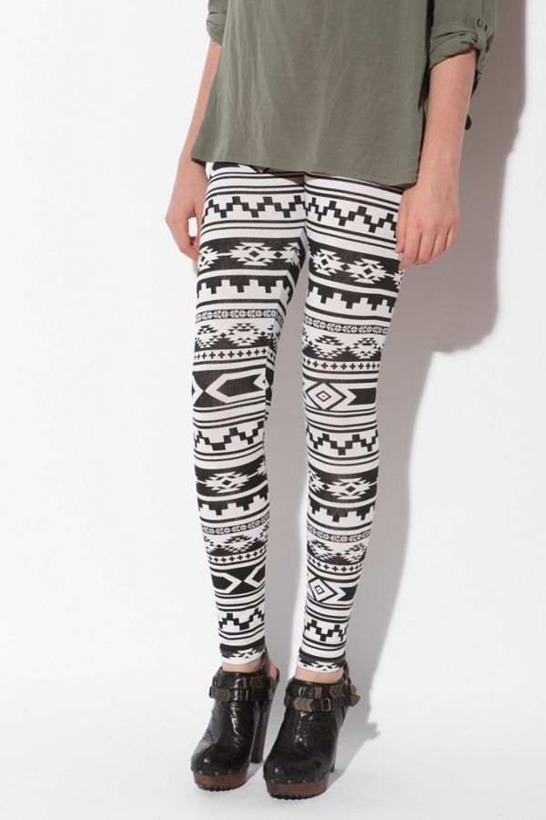 08a383263ac4e BDG Aztec Printed Legging | Urban Outfitters