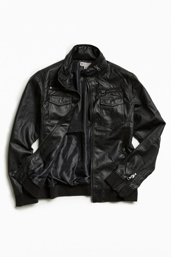 28fecc65 Faux Leather Moto Jacket | Urban Outfitters