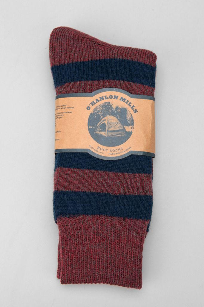 Rugby Stripe Boot Sock Urban Outfitters