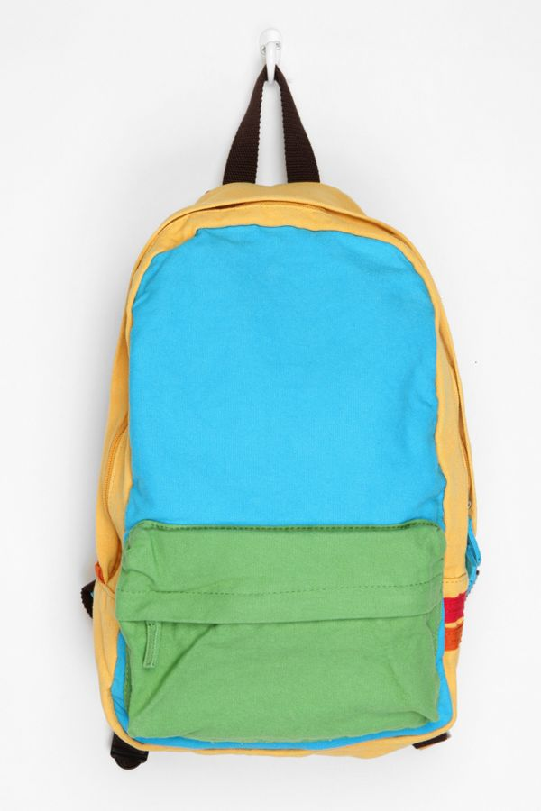 63fe7710c7 Carrot Colorblock Backpack