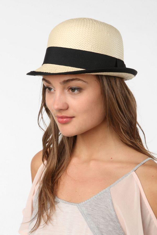 efcd1515389a4 Mint By Goorin Bros. Straw Bowler Hat