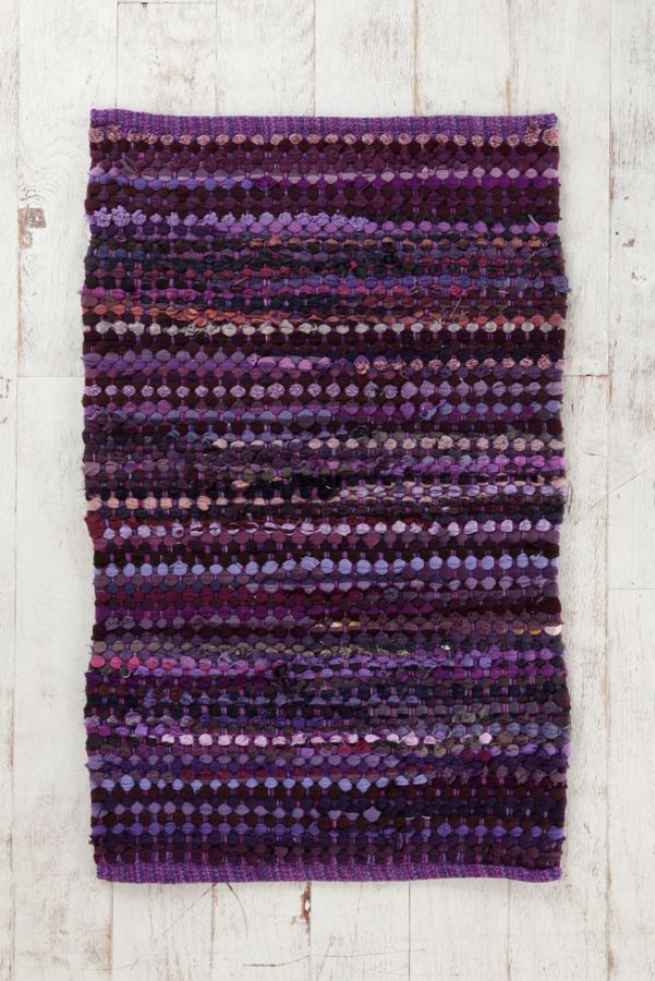 Ribbon Rag Rug | Urban Outfitters