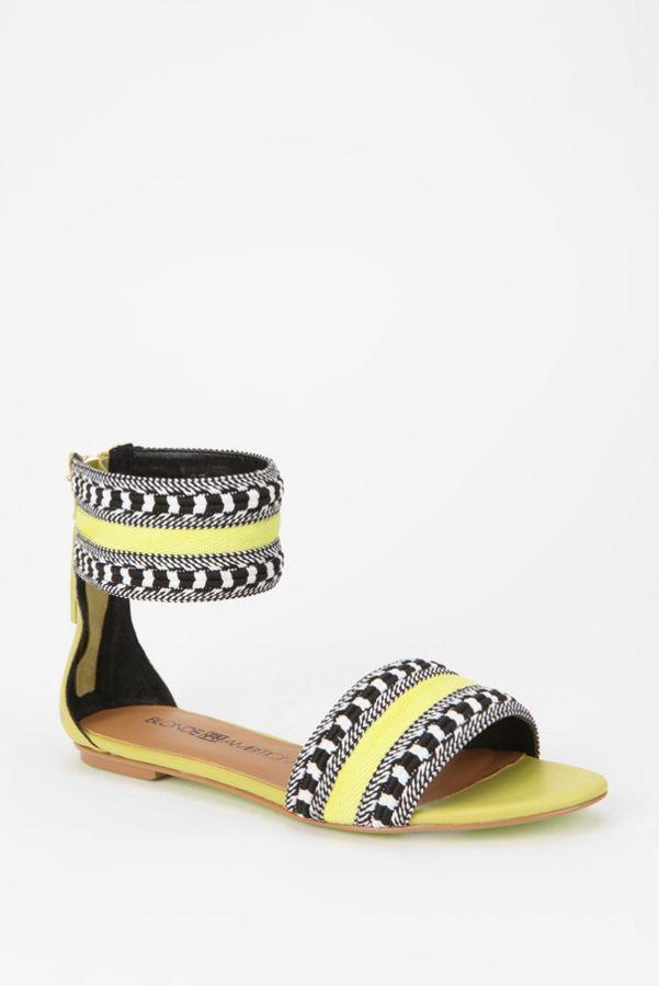 232b71cd8 Blonde Ambition Tassel Ankle-Strap Sandal