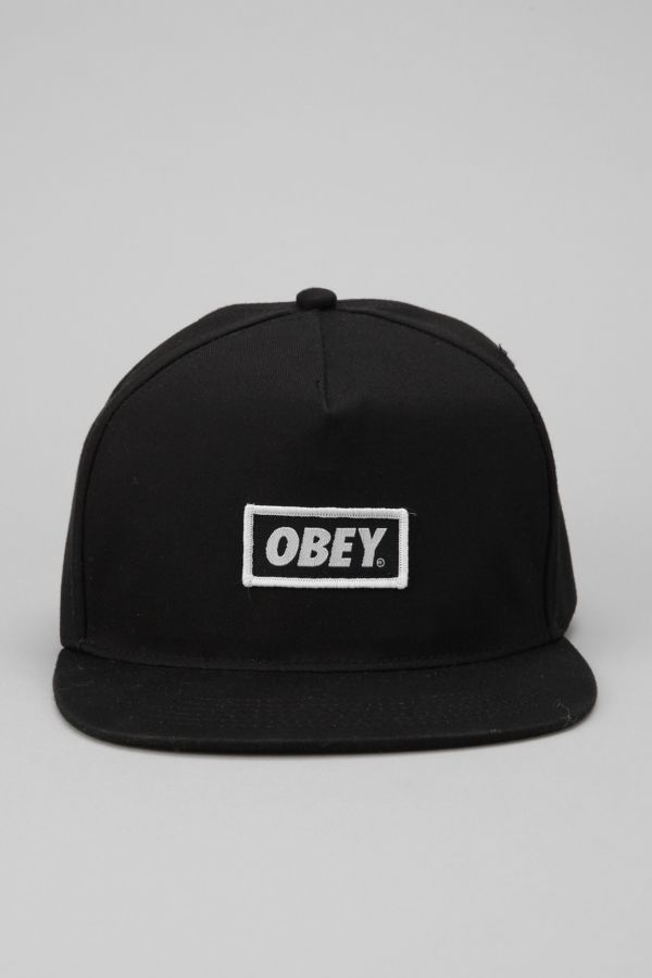 13f3301ba96e5 OBEY New Original Snapback Hat