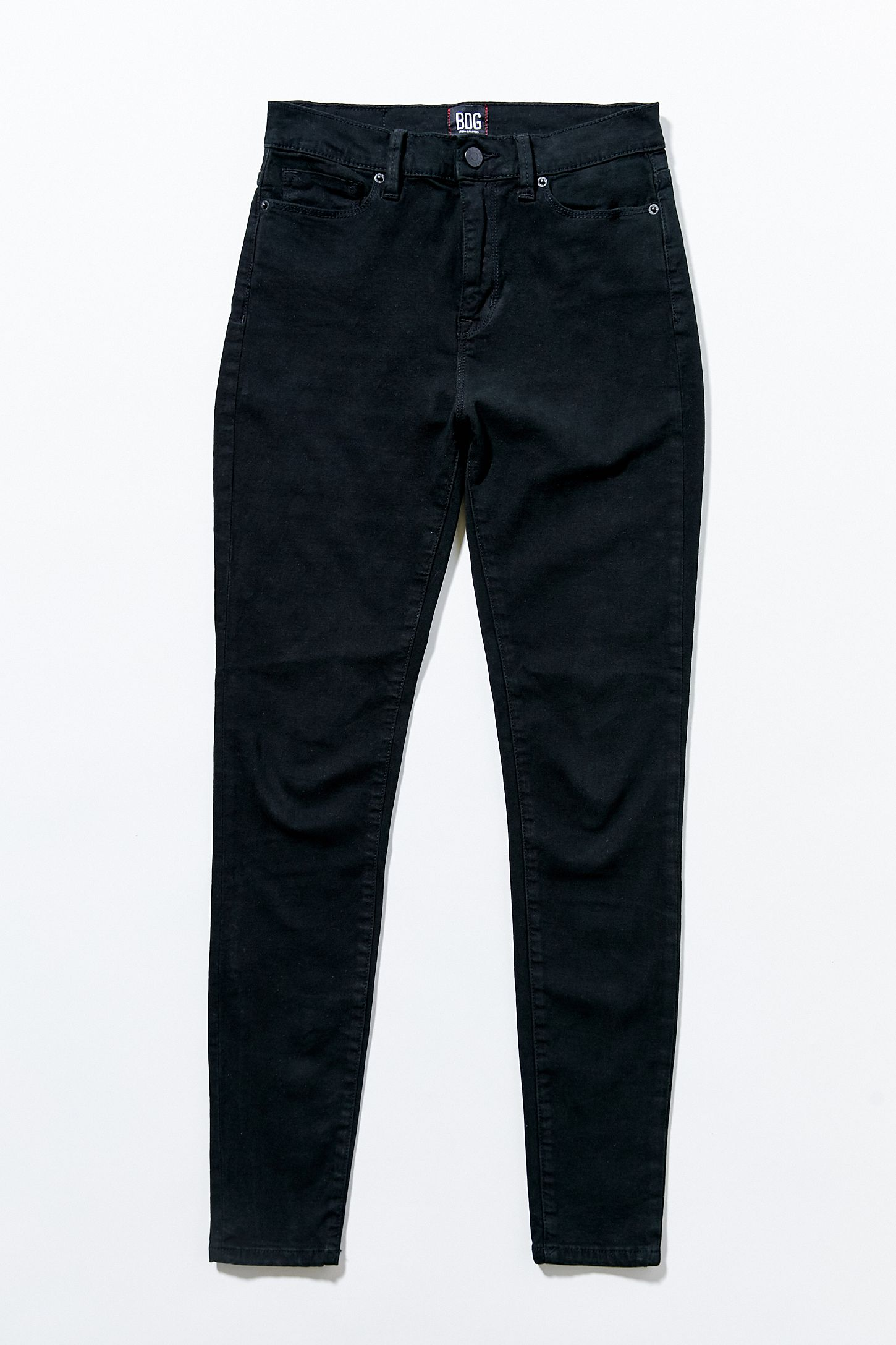de747c4dba BDG Twig High-Rise Skinny Jean - Black | Urban Outfitters