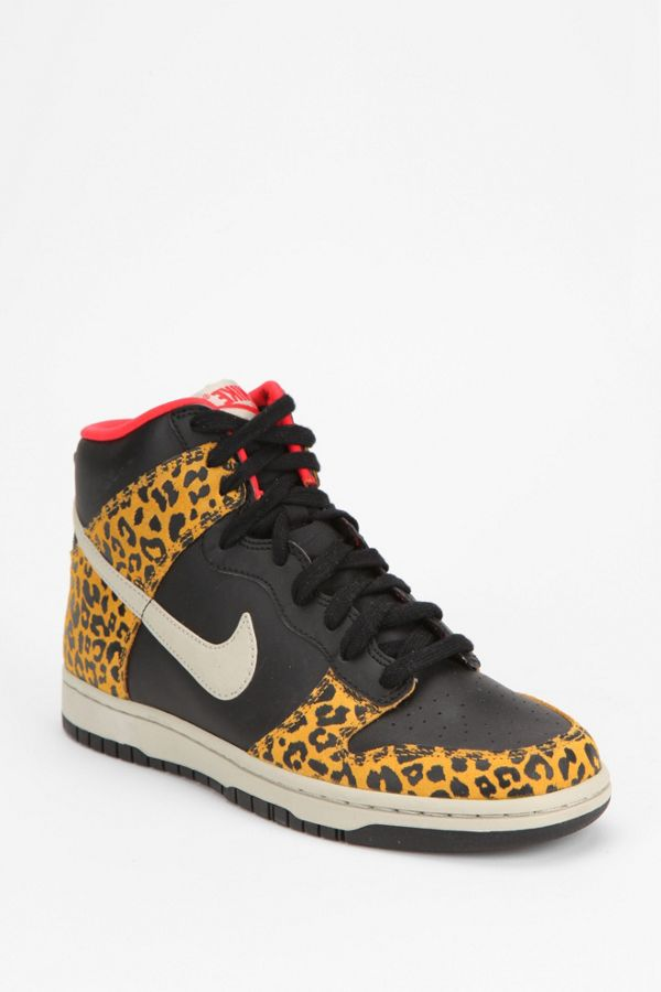 sale retailer 00970 49c00 Nike Animal Print Dunk High-Top Sneaker   Urban Outfitters