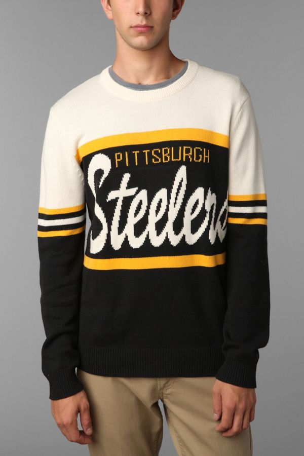 the latest 6f43e 80551 Junk Food NFL Steelers Sweater | Urban Outfitters
