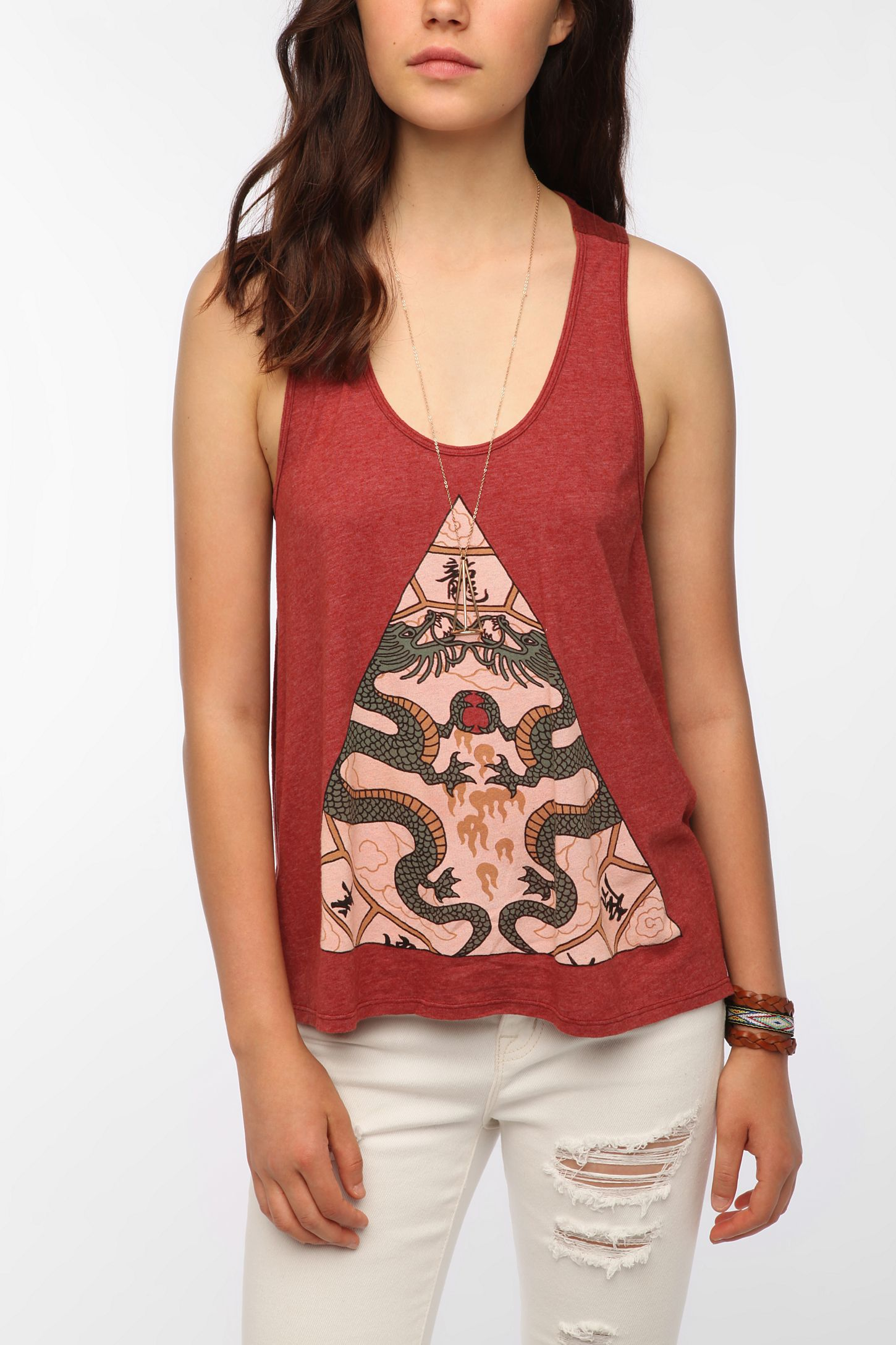 a24bf6fee8d Truly Madly Deeply Dragon Horoscope Tank Top | Urban Outfitters