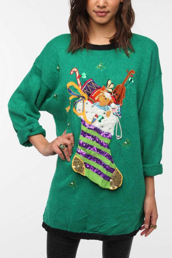0fa95b63a53 Urban Renewal Ugly Christmas Sweater