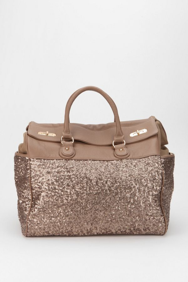 e4bf6746c5 Deux Lux Sequin Weekender Bag | Urban Outfitters