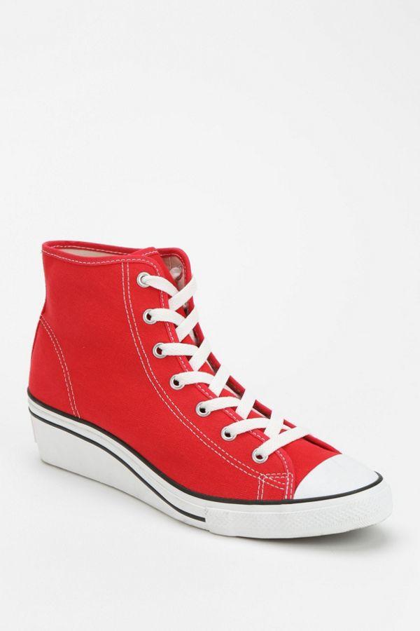 c401e2d7d56 Converse - Sneakers hauts à talon compensé Chuck Taylor All Star pour femme