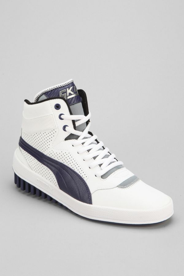 Urban Outfitters Puma Sky Future Hightop Sneaker in Grey