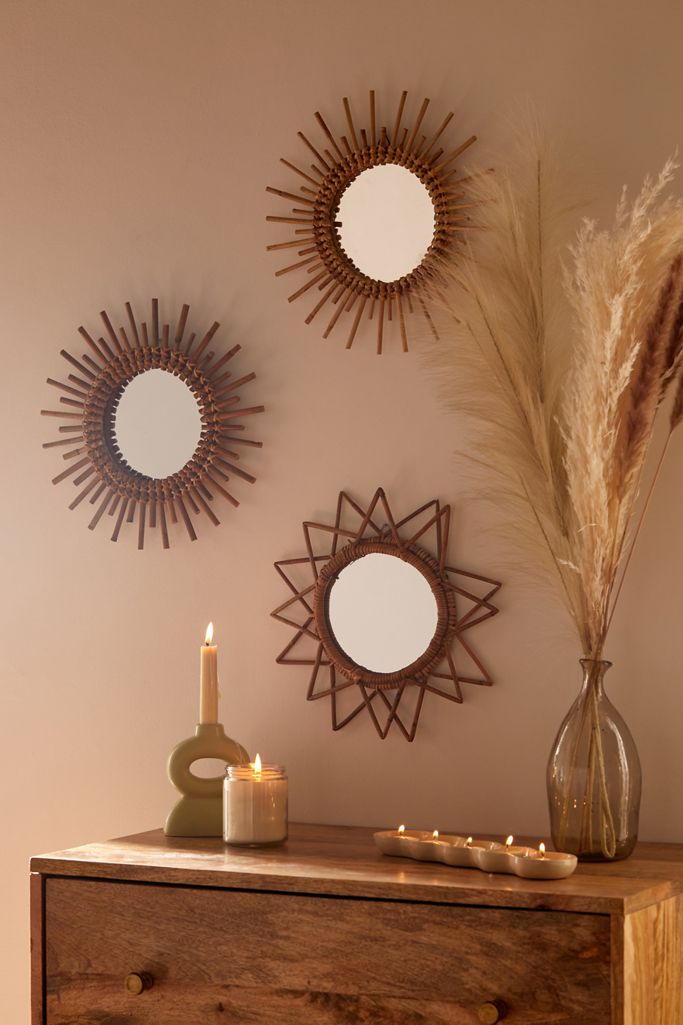 Small Boho Living Room Accents