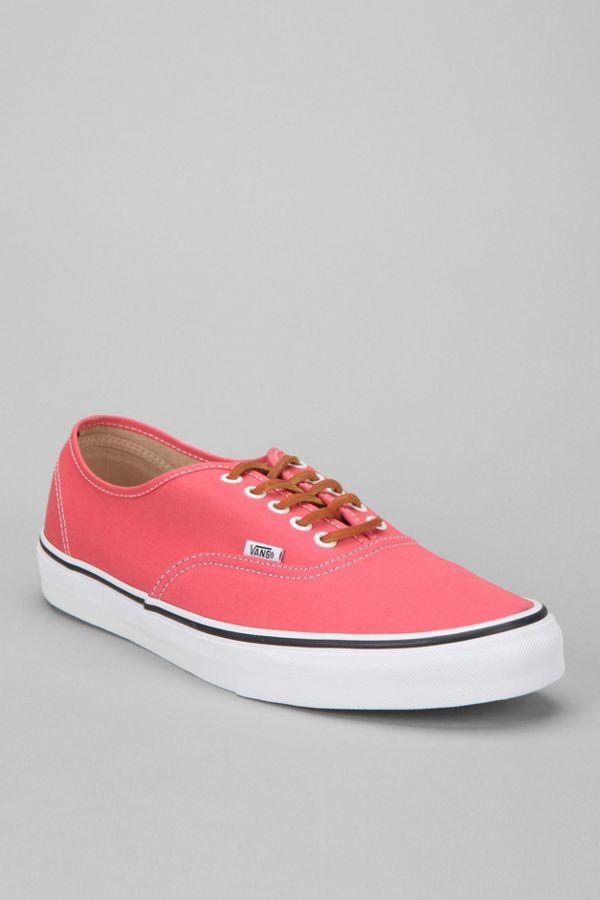 023f8daebd973b Vans Authentic Brushed-Twill Men s Sneaker