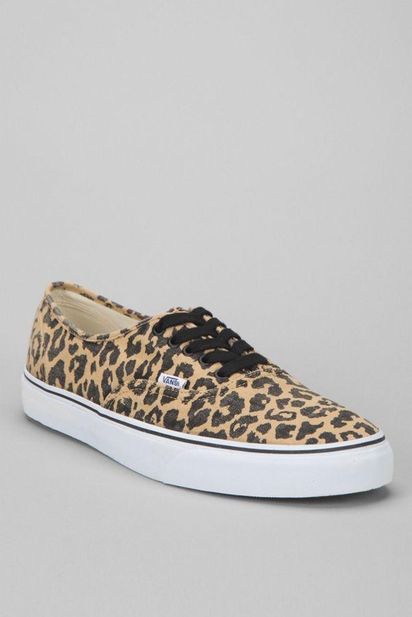 ae2a1e680a7828 Vans Van Doren Leopard Authentic Men s Sneaker
