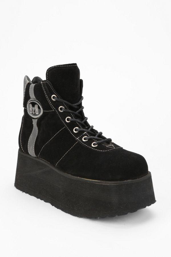 b3e7378d13f9 Vintage  90s Platform-Sneaker