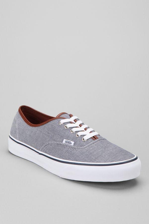 097d6ec23be7a0 Vans Authentic Chambray Men s Sneaker