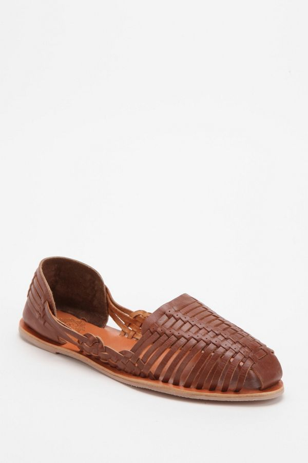 d4d27a159098 Ecote Woven Leather Huarache Sandal