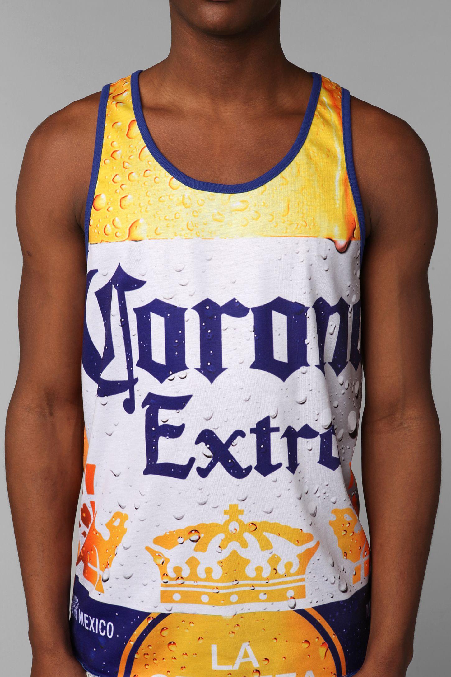 9182535bdc68d3 Corona Beer Tank Top