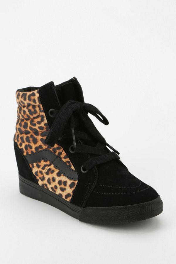978ff579e6 Vans Sk8-Hi Animal Print Hidden Wedge Women s High-Top Sneaker ...