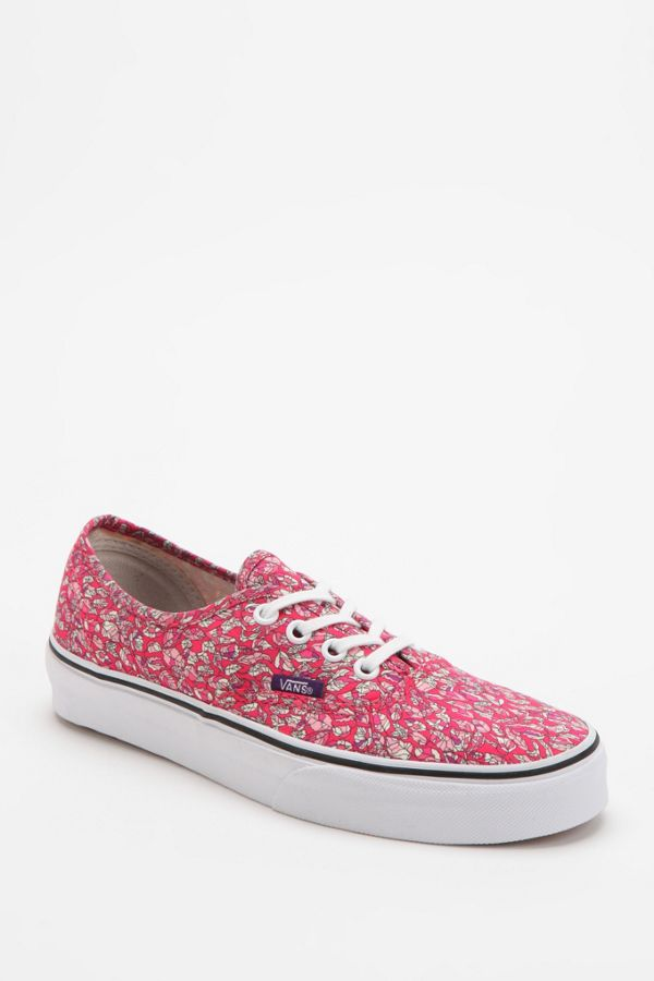 af68451861 Vans X Liberty London Authentic Leaves Women s Sneaker