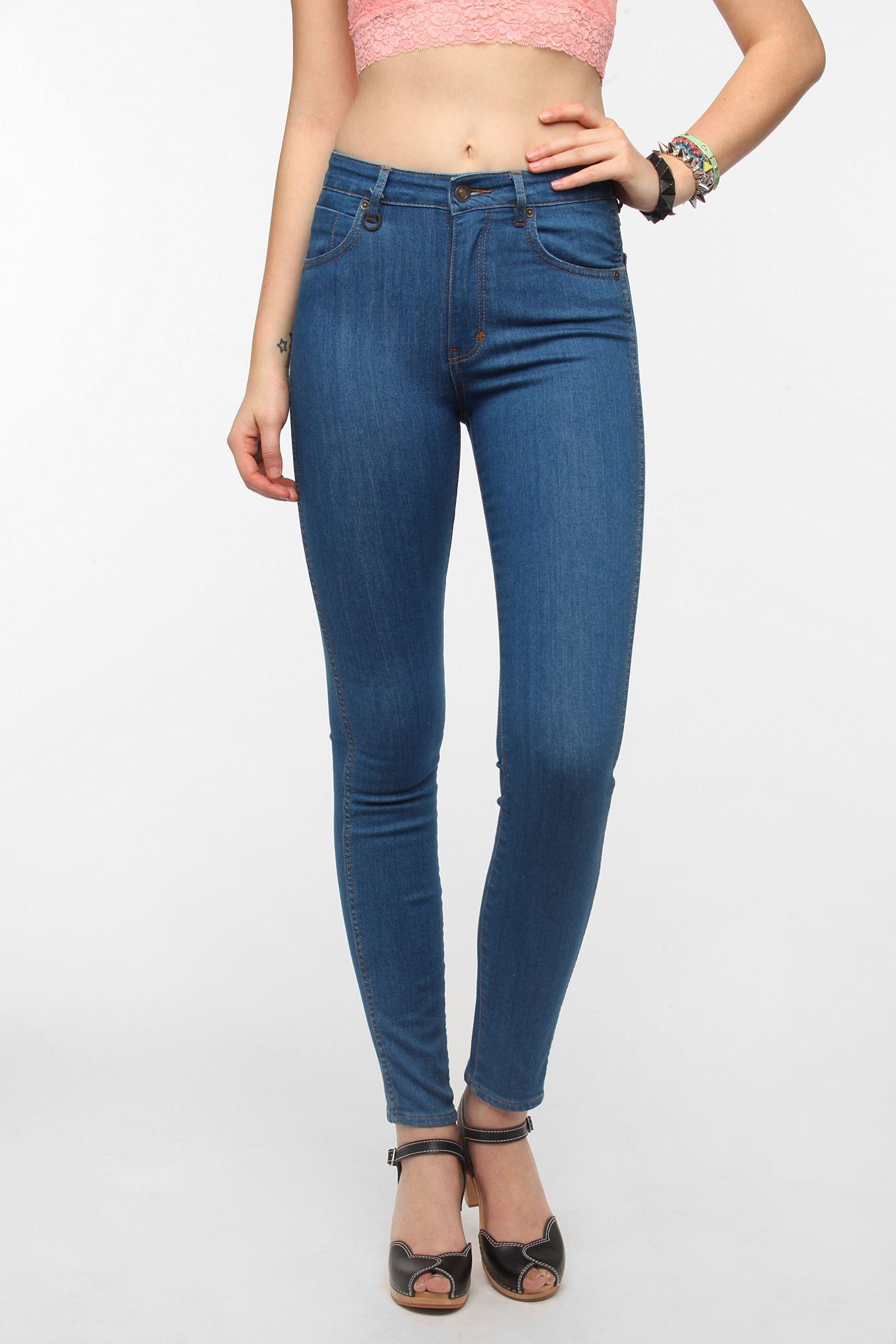 6a504b4f130 Neuw Marilyn High-Rise Skinny Jean - Silk Blue