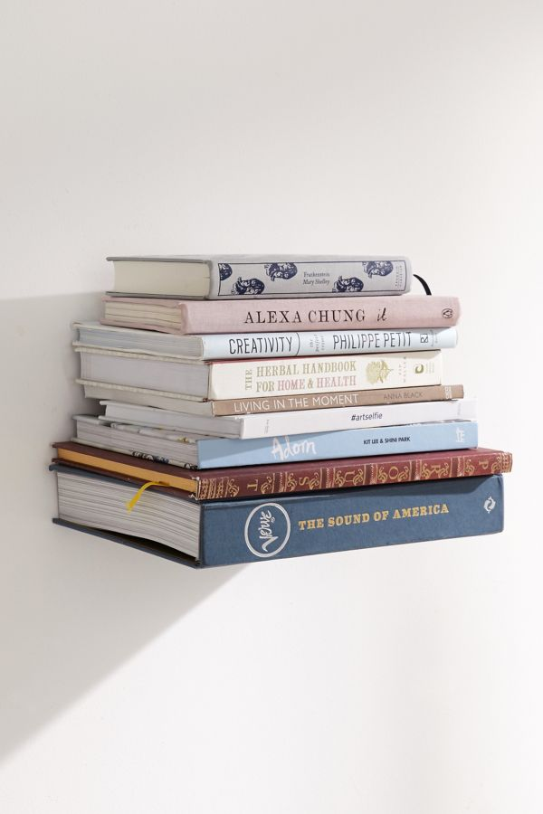 Invisible Book Wall Shelf