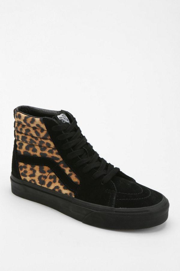 88f2567c7e49 Vans Sk8-Hi Leopard Print Women s High-Top Sneaker